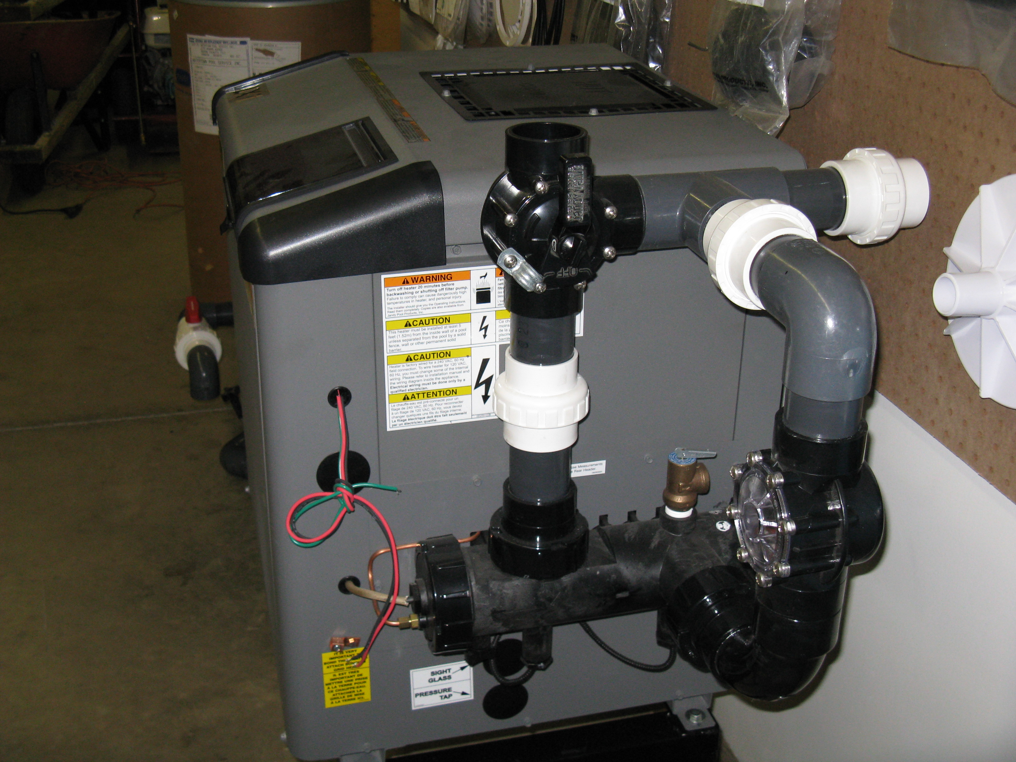 Bypass Valve Assembly Watertown Pool Service Inc